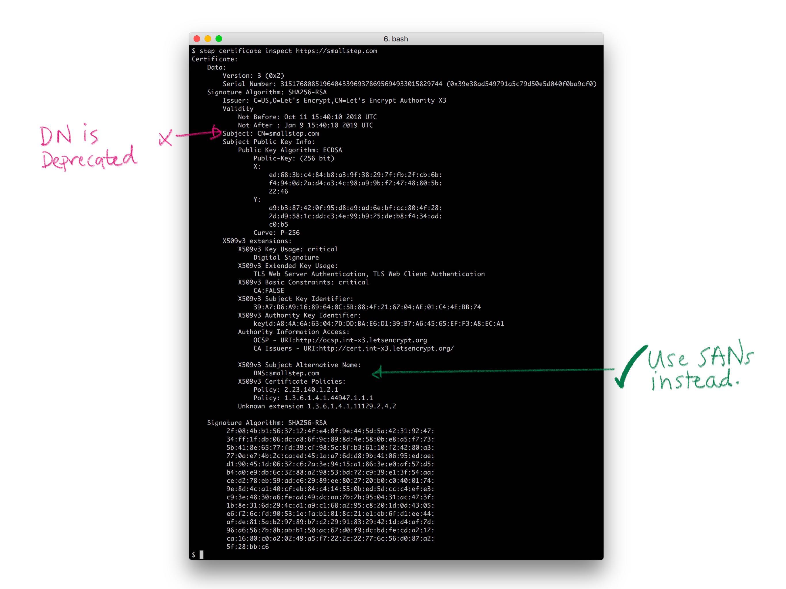 Everything PKI - smallstep
